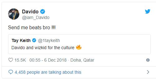 Wizkid and Davido On Same Beat